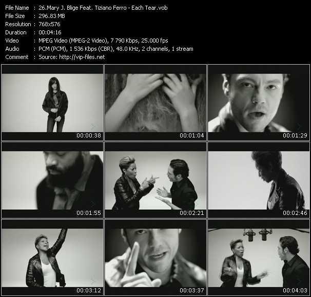 Mary J. Blige Feat. Tiziano Ferro - Each Tear