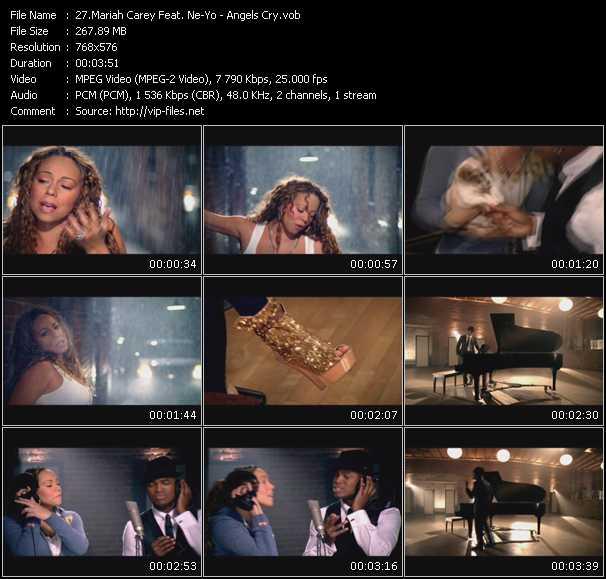 Mariah Carey Feat. Ne-Yo - Angels Cry