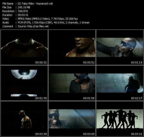 Talay Riley - Humanoid