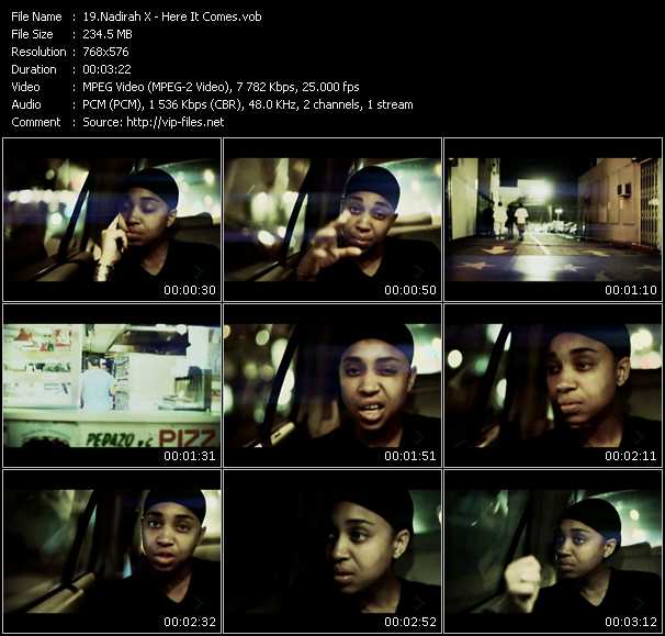 Nadirah X - Here It Comes