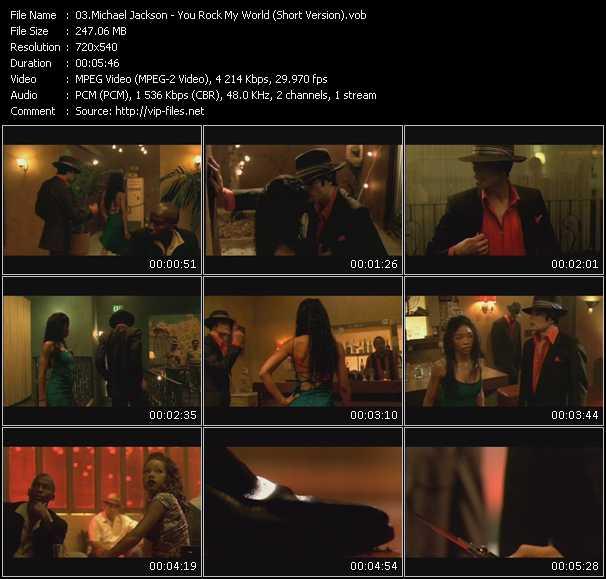 Michael Jackson - You Rock My World (Short Version)