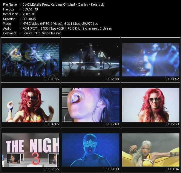 Estelle Feat. Kardinal Offishall - Chelley - Kelis - Freak - Took The Night - Acapella
