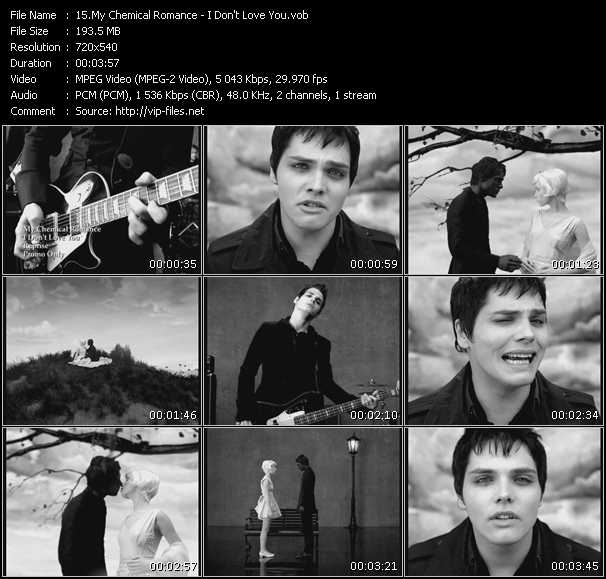 My Chemical Romance - I Don't Love You