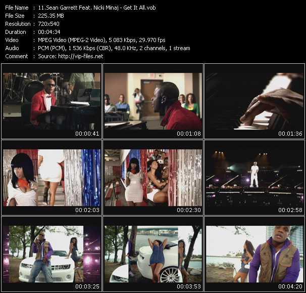 Sean Garrett Feat. Nicki Minaj - Get It All