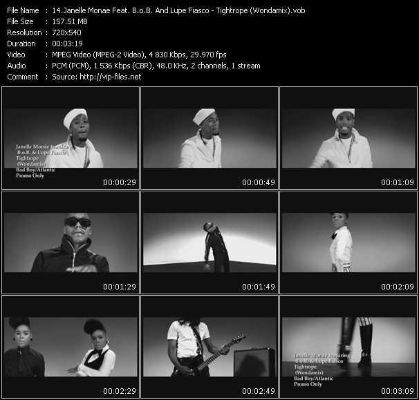 Janelle Monae Feat. B.O.B. And Lupe Fiasco - Tightrope (Wondamix)
