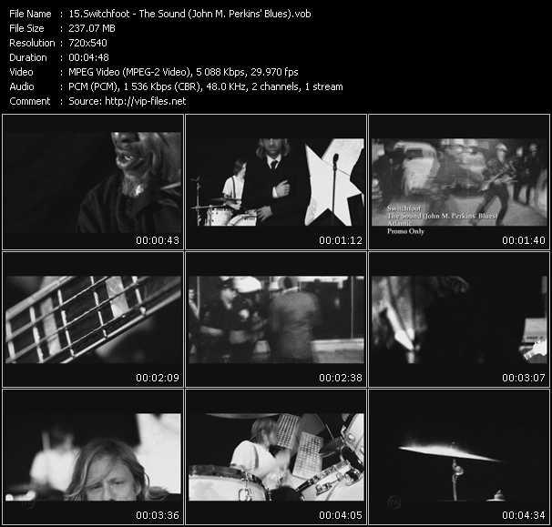 Switchfoot - The Sound (John M. Perkins' Blues)
