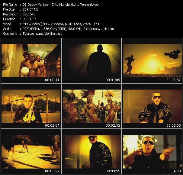 Daddy Yankee - Grito Mundial (Long Version)