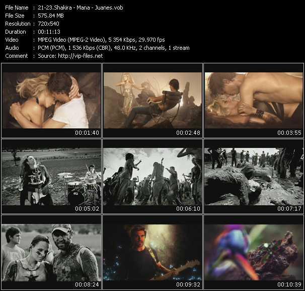 Shakira - Mana - Juanes - Gitana - Te Llevare Al Cielo... - Yerbatero