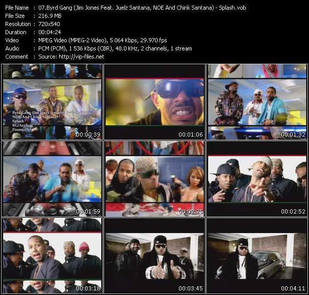 Byrd Gang (Jim Jones Feat. Juelz Santana, NOE And Chink Santana) - Splash