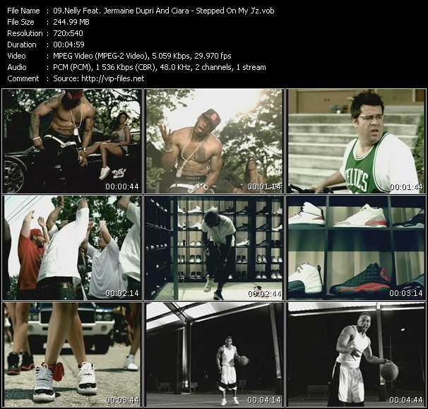 Nelly Feat. Jermaine Dupri And Ciara - Stepped On My J'z