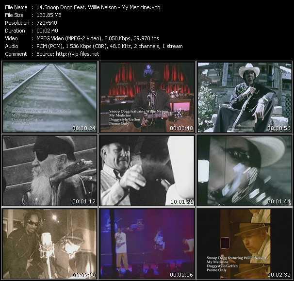 Snoop Dogg Feat. Willie Nelson - My Medicine
