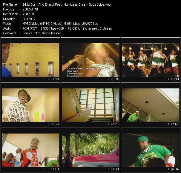 Lil' Josh And Ernest Feat. Hurricane Chris - Jigga Juice
