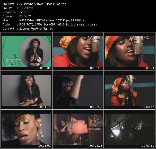 Jazmine Sullivan - Need U Bad
