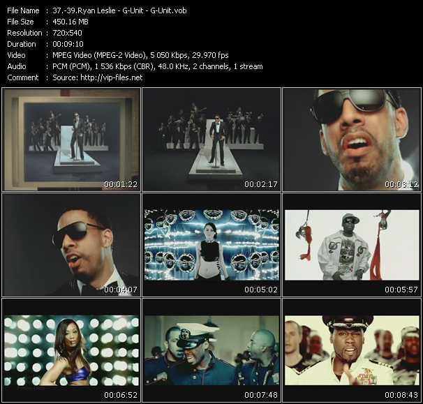 Ryan Leslie - G-Unit - G-Unit - Diamond Girl - I Like The Way She Do It - Rider Pt. 2