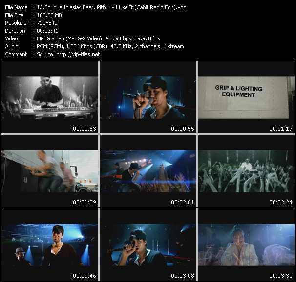 Enrique Iglesias Feat. Pitbull - I Like It (Cahill Radio Edit)