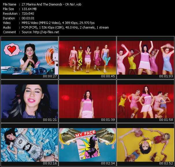 Marina And The Diamonds - Oh No!