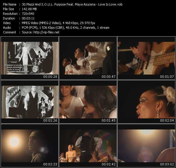 Mazzi And S.O.U.L. Purpose Feat. Maya Azucena - Love Is Love