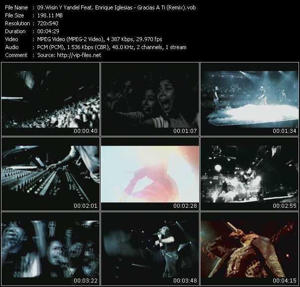 Wisin And Yandel Feat. Enrique Iglesias - Gracias A Ti (Remix)