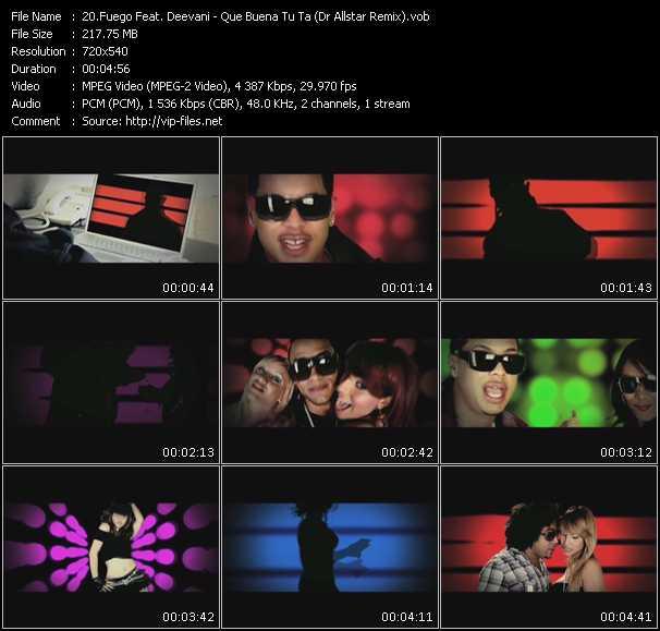 Fuego Feat. Deevani - Que Buena Tu Ta (Dr Allstar Remix)