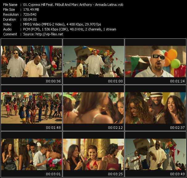 Cypress Hill Feat. Pitbull And Marc Anthony - Armada Latina