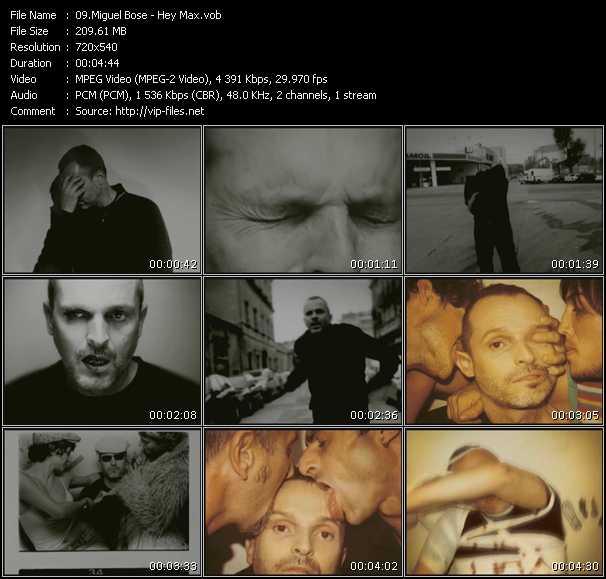 Miguel Bose - Hey Max