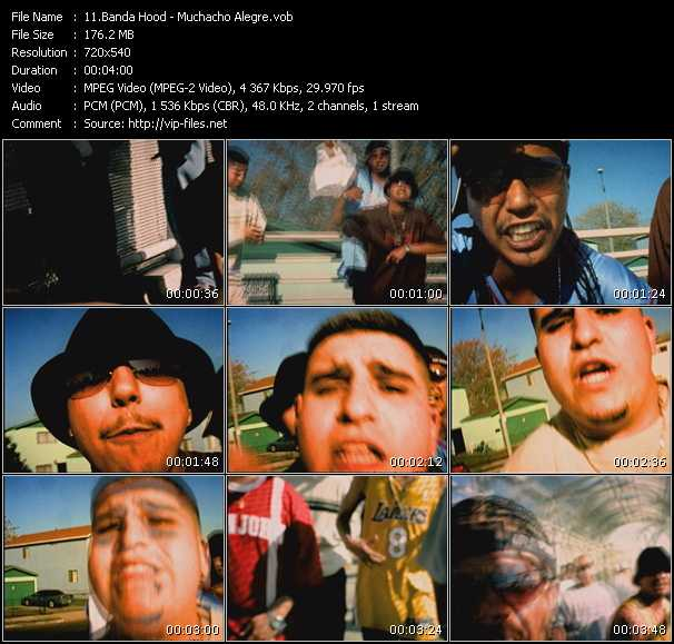 Banda Hood - Muchacho Alegre