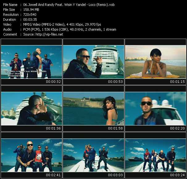 Jowell And Randy Feat. Wisin And Yandel - Loco (Remix)
