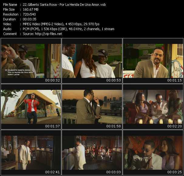Gilberto Santa Rosa - Por La Herida De Una Amor