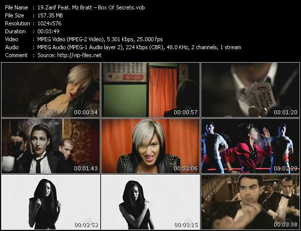 Zarif Feat. Mz Bratt - Box Of Secrets
