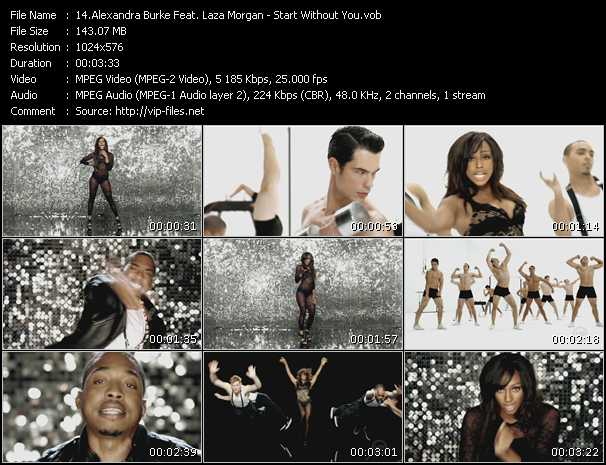 Alexandra Burke Feat. Laza Morgan - Start Without You