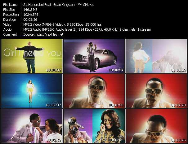 Honorebel Feat. Sean Kingston - My Girl