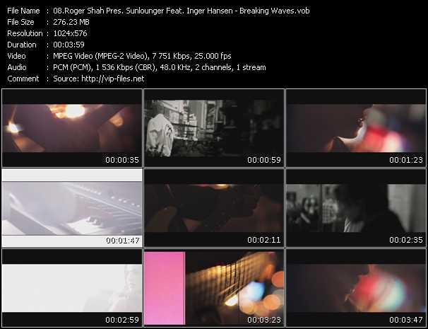 Roger Shah Pres. Sunlounger Feat. Inger Hansen - Breaking Waves
