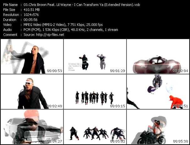Chris Brown Feat. Lil' Wayne - I Can Transform Ya (Extended Version)