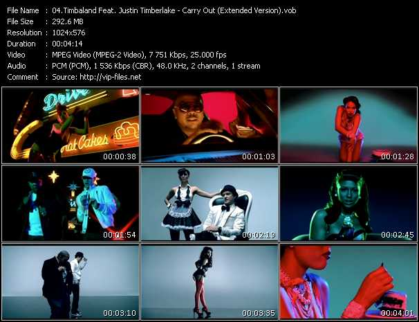 Timbaland Feat. Justin Timberlake - Carry Out (Extended Version)
