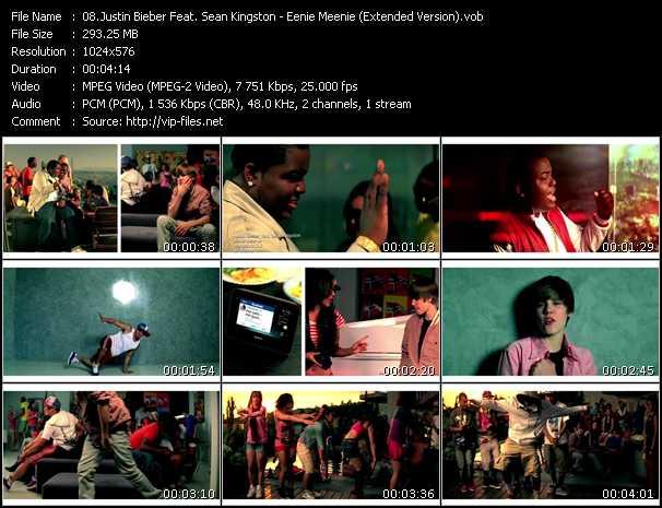 Justin Bieber Feat. Sean Kingston - Eenie Meenie (Extended Version)