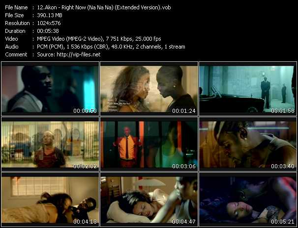 Akon - Right Now (Na Na Na) (Extended Version)