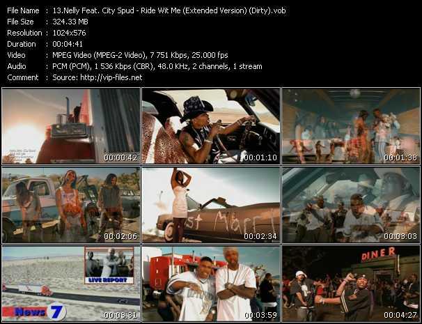 Nelly Feat. City Spud - Ride Wit Me (Extended Version) (Dirty Version)