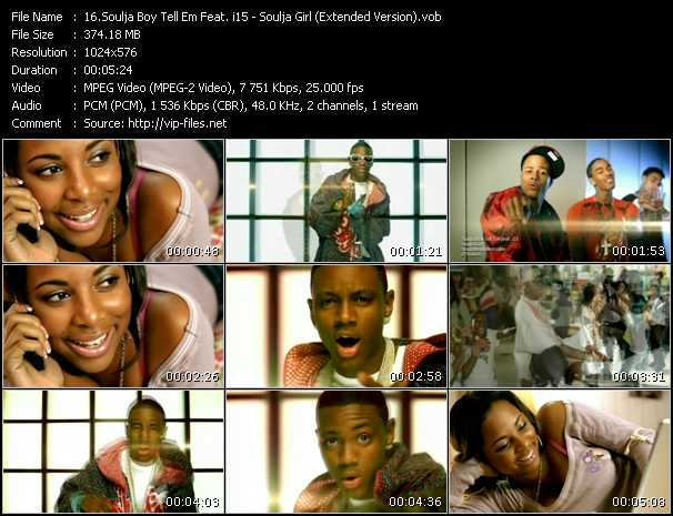 Soulja Boy Tell 'Em Feat. i15 - Soulja Girl (Extended Version)