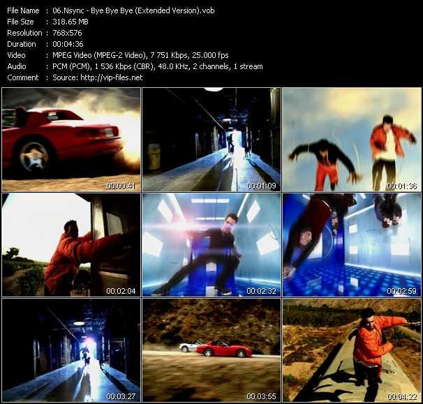 N'Sync - Bye Bye Bye (Extended Version)