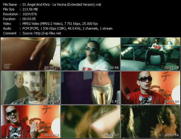 Angel And Khriz - La Vecina (Extended Version)