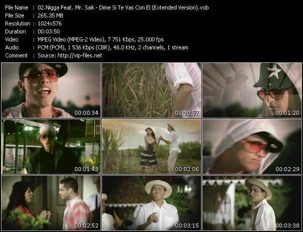 Nigga Feat. Mr. Saik - Dime Si Te Vas Con El (Extended Version)