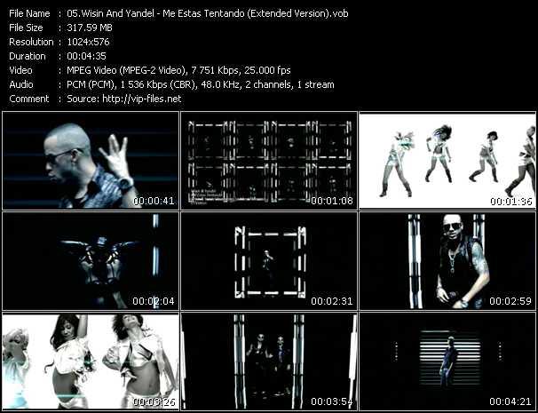 Wisin And Yandel - Me Estas Tentando (Extended Version)