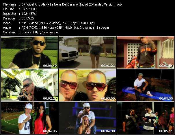 Wibal And Alex - La Nena Del Caserio (Intro) (Extended Version)