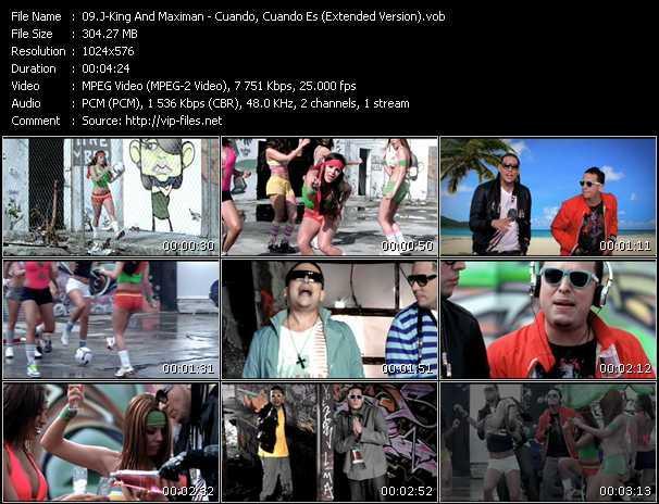 J-King And Maximan - Cuando, Cuando Es (Extended Version)