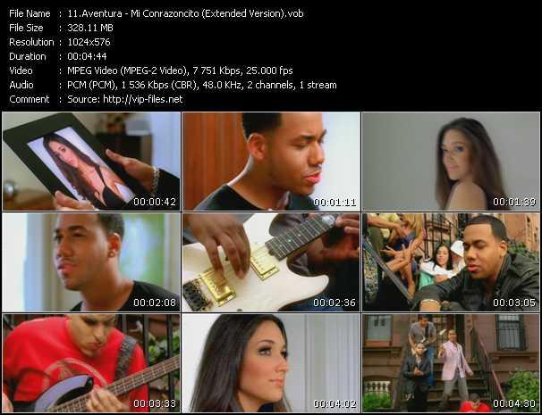 Aventura - Mi Conrazoncito (Extended Version)