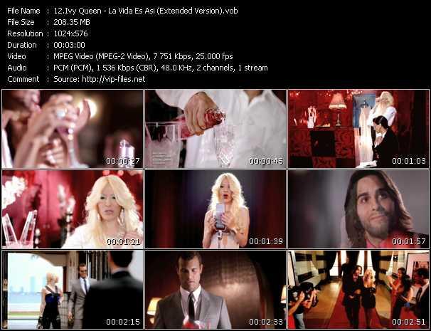 Ivy Queen - La Vida Es Asi (Extended Version)