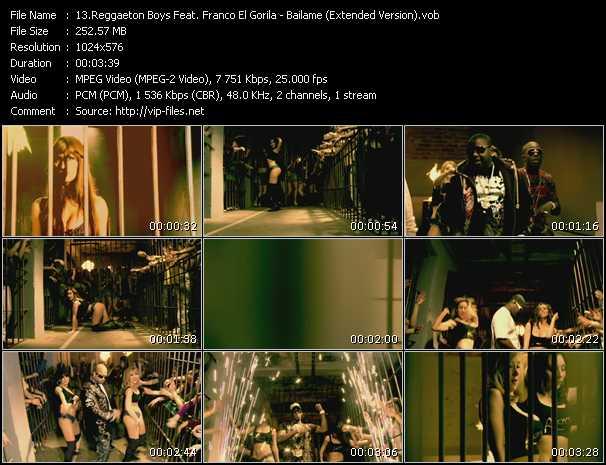 Reggaeton Boys Feat. Franco El Gorila - Bailame (Extended Version)
