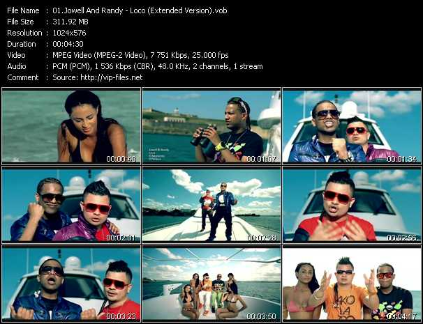 Jowell And Randy - Loco (Extended Version)