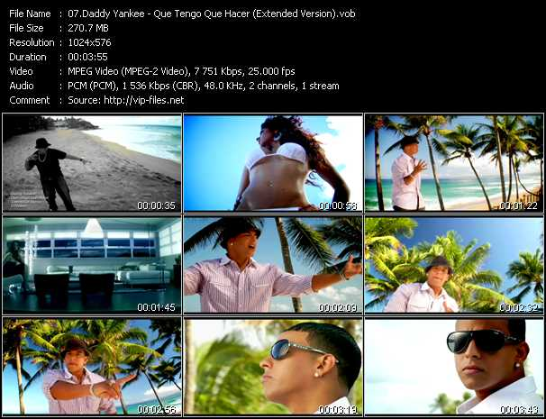 Daddy Yankee - Que Tengo Que Hacer (Extended Version)