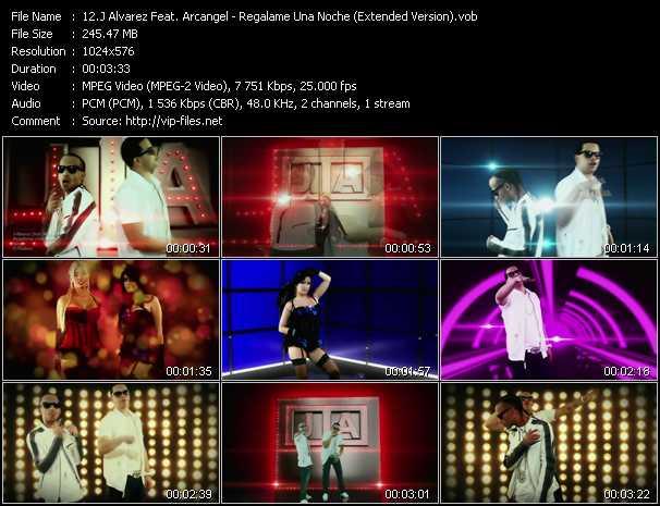 J Alvarez Feat. Arcangel - Regalame Una Noche (Extended Version)